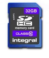 32GB SDHC Flash card