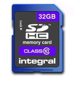 SD32G6 32GB SDHC Flash card